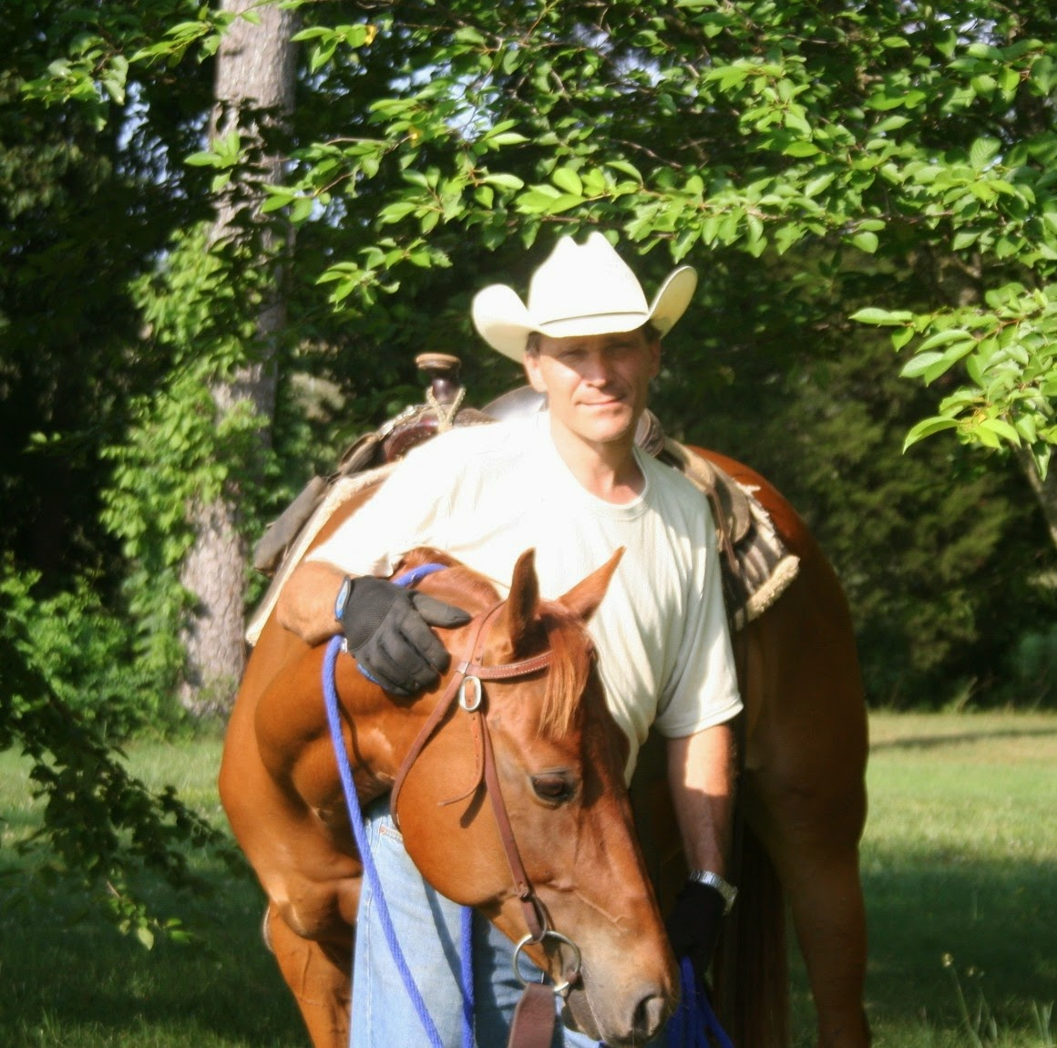 Horse Trainer Image With horse training