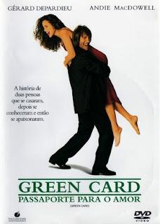 Green Card – Passaporte para o Amor Dublado Online