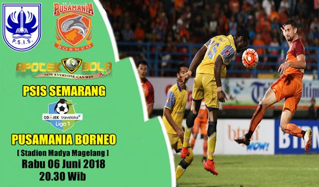 Prediksi PSIS vs Pusamania Borneo 6 Juni 2018