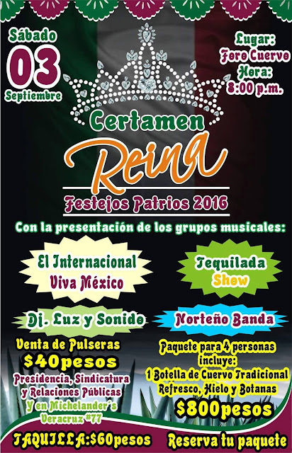 fiestas patrias tequila 2016