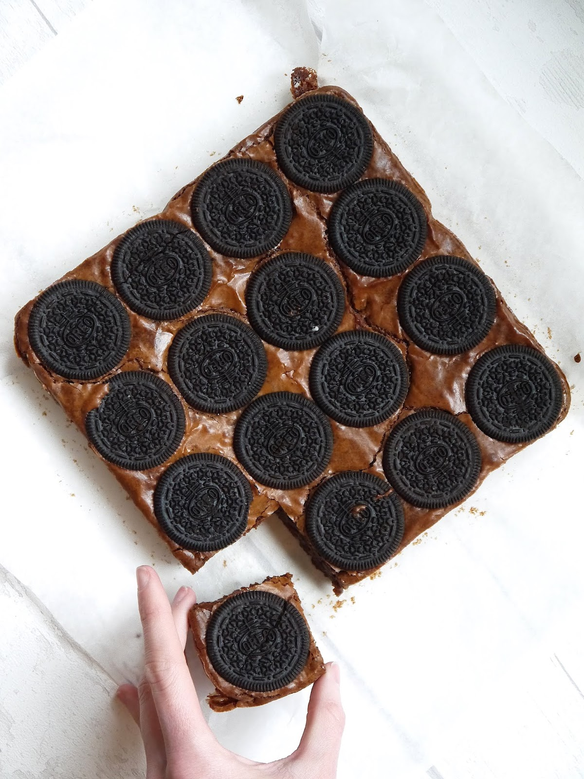 The Best Oreo Brownie Recipe The Betty Stamp