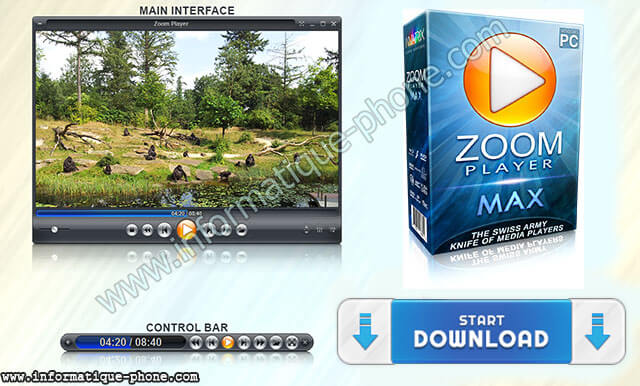 تحميل برنامج Zoom Player MAX فى احدث اصدار