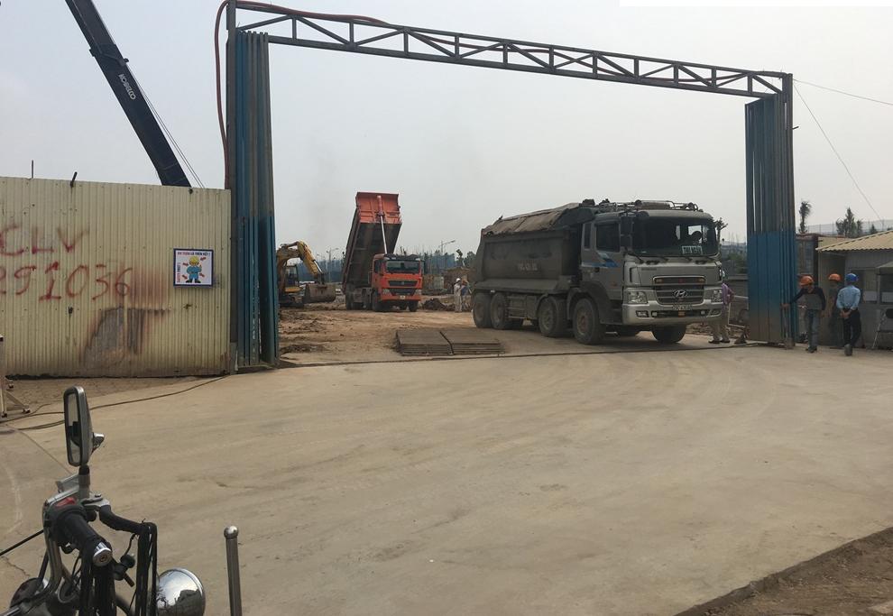 Ảnh công trường dự án The K Park Văn Phú ngày 20/5/2017
