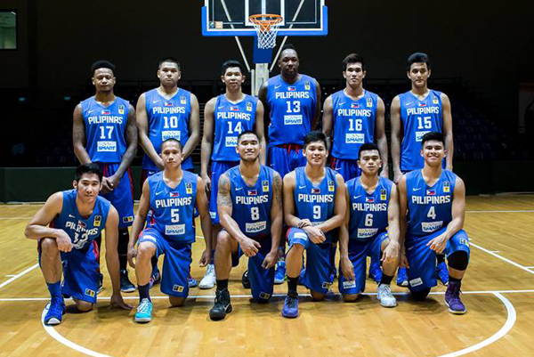 Sinag Pilipinas vs Singapore Men's Basketball Team