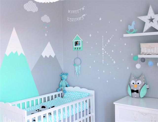 szary pokój dziecka