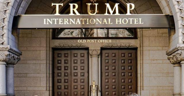 اختراق سلسلة الفنادق الفخمة لدونالد ترامب !