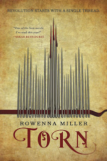 Interview with Rowenna Miller, author of Torn