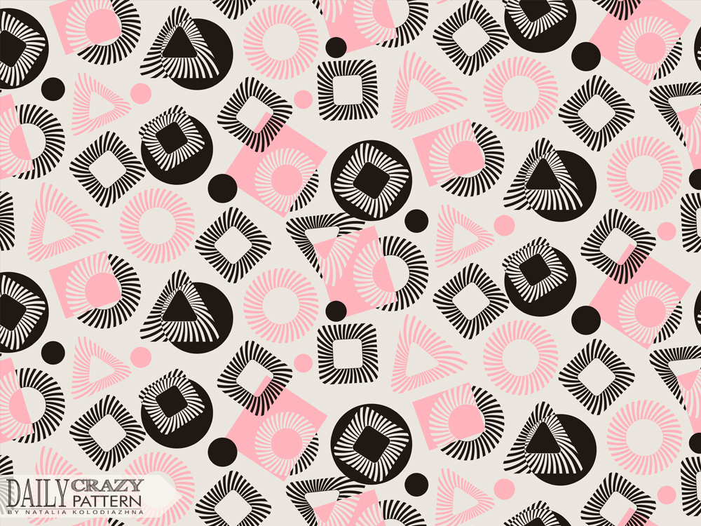 Geometric stunning pattern design