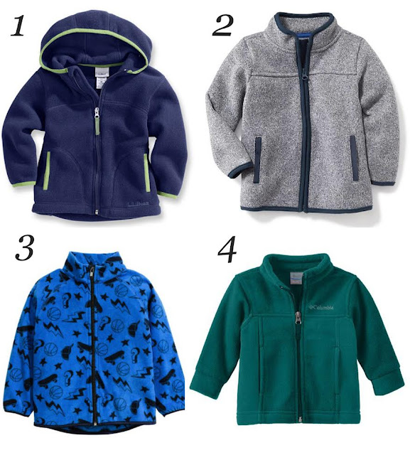 Fall Fleece Toddler Jackets