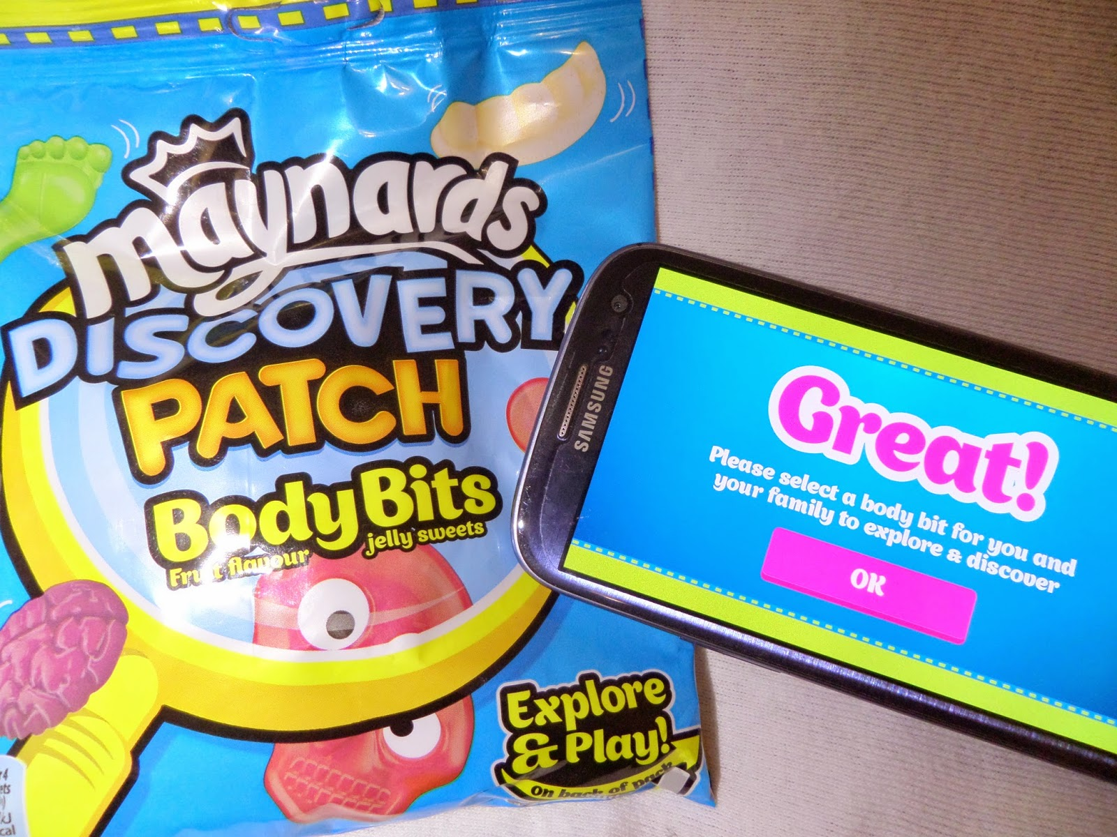 #DiscoveryPatch, sweets, educational app, technology, imagination