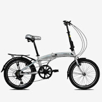 20 pacific veloce 10 aloi folding bike