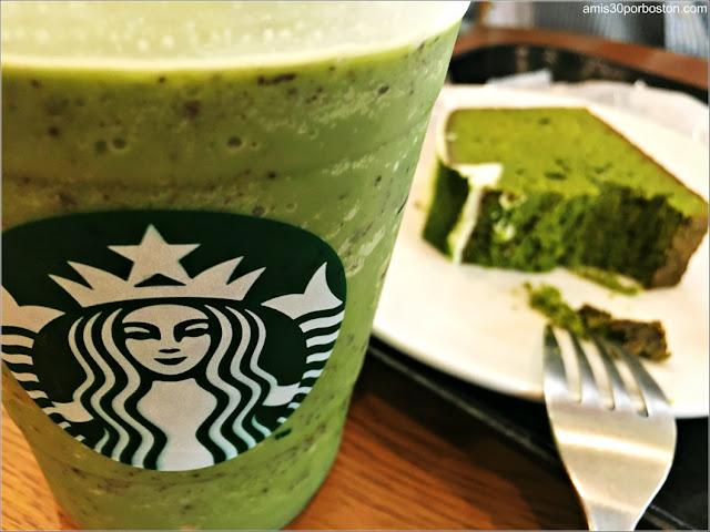 Matcha en Cafeterías de Boston: Starbucks