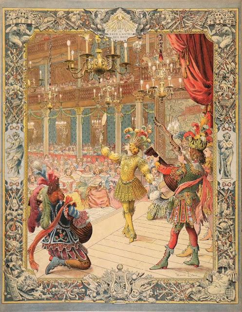 Maurice Leloir Le Roy soleil Le ballet de la nuit. Importance of Pirouettes. marchmatron.com