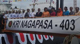 Menhan Resmikan KRI Nagapasa-403