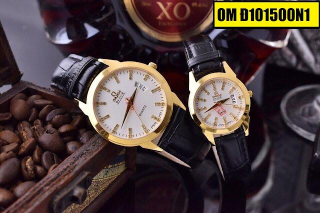 Đồng hồ dây da Omega Đ101500N1