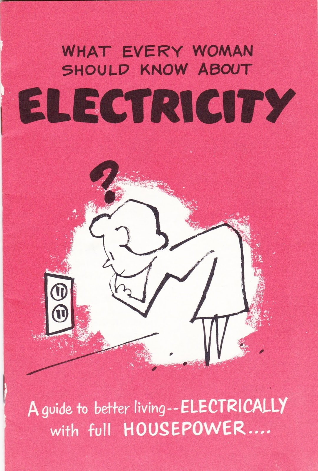 Garage Sale Finds: What Every Woman Should Know About Electricity