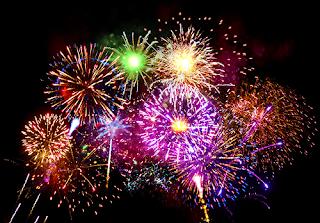 Imagem de fogos de artifício