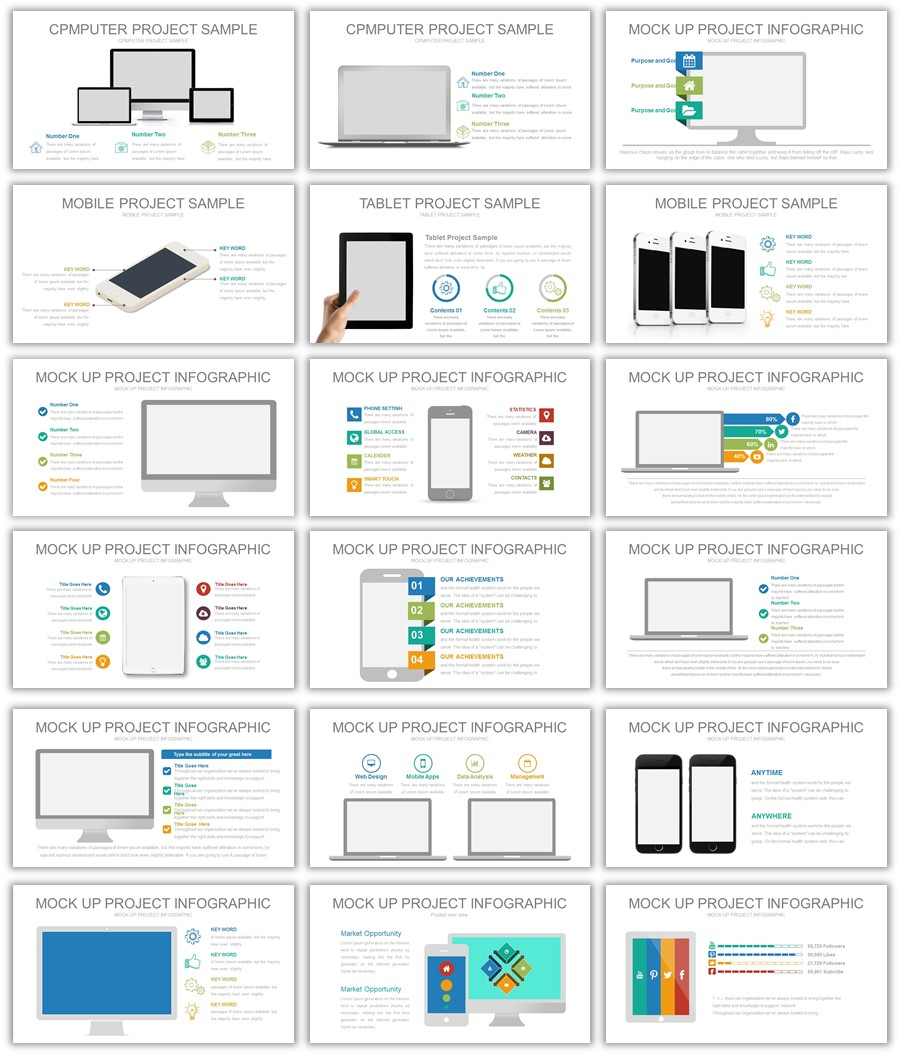 Mockups Powerpoint