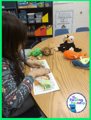 The Reading Roundup - Beanie Baby Reading Strategies Tips