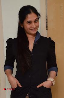 Telugu Actress Priyanka Pallavi Stills in Micro Mini Skirt at Nenosthaa Movie Song Launch at Radio City  0022.JPG