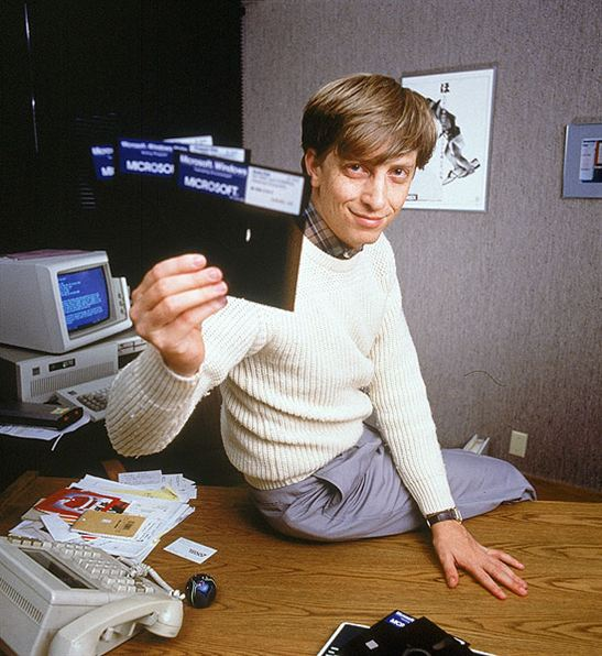 young bill gate