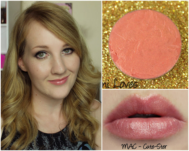 MAC Cute-Ster lipstick swatch