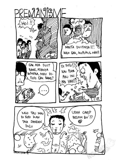 Monster Bego Komik Super Bego  Super Lucu Karya Anak