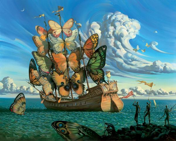 Vladimir Kush - O Mestre do Surrealismo