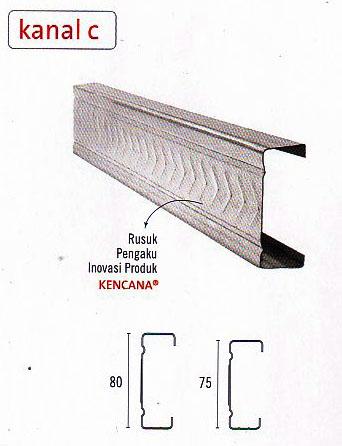 harga baja ringan kepuh kencana arum jual rangka atap truss bata
