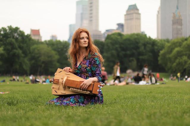 lira korbowa central park nowy jork piknik hurdy-grudy