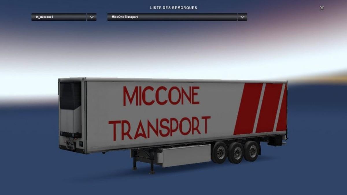 Miccone Transport Trailer [1.30]