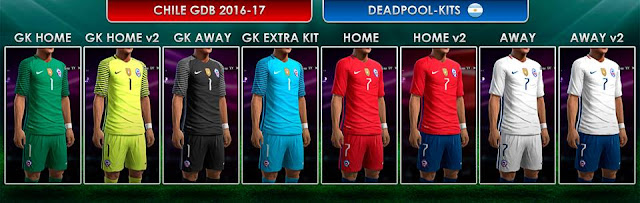 Chile GDB 2016-17 - DEADPOOL-Kits