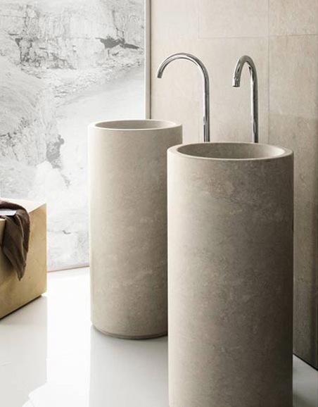 natural modern interiors bathroom design ideas basins sinks. Black Bedroom Furniture Sets. Home Design Ideas