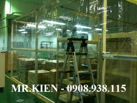 Rèm nhựa PVC ngăn bụi bẩn Nhà máy Daiichi Seiko