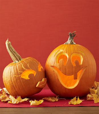 cute halloween pumpkin carving decorating ideas DIY