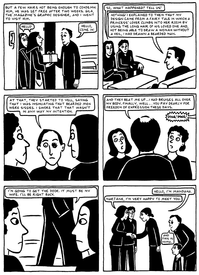 Read Chapter 19 - The End, page 181, from Marjane Satrapi's Persepolis 2 - The Story of a Return