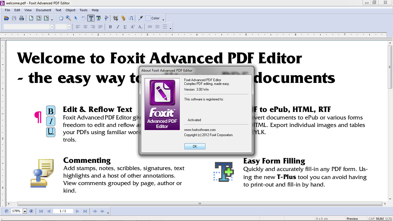 Foxit Advanced Pdf Editor V3.0.5 Incl Crack