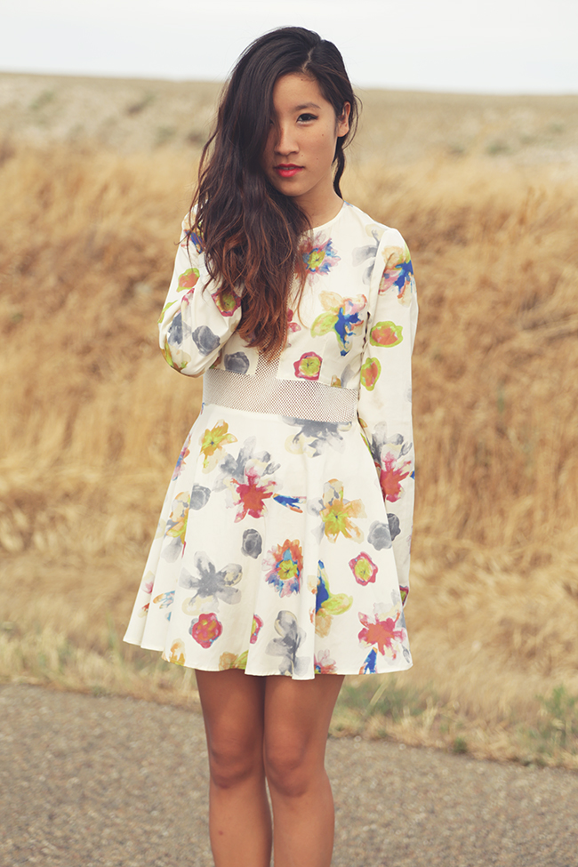 for love and lemons fleur dress