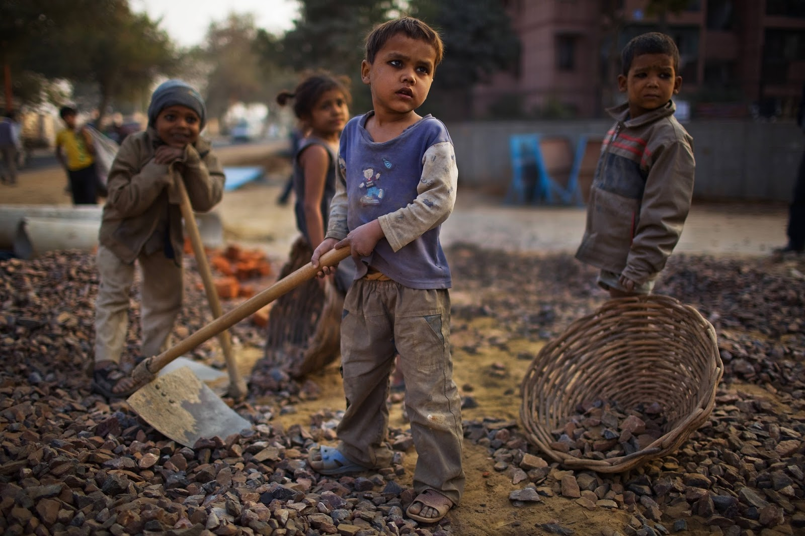 The Situation of Underprivileged Children in India | Vaishali