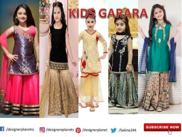 Kids Garara and Sharara designerplanet
