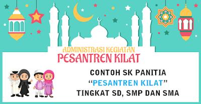 Download Contoh SK Panitia Pesantren Kilat