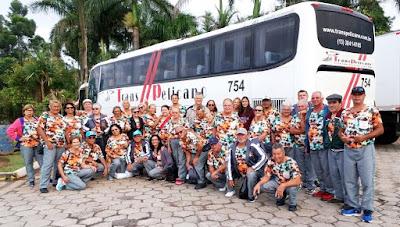 Delegação da Ilha disputa os Jogos da Terceira Idade (JORI),em Itapeva (SP), em oito modalidades