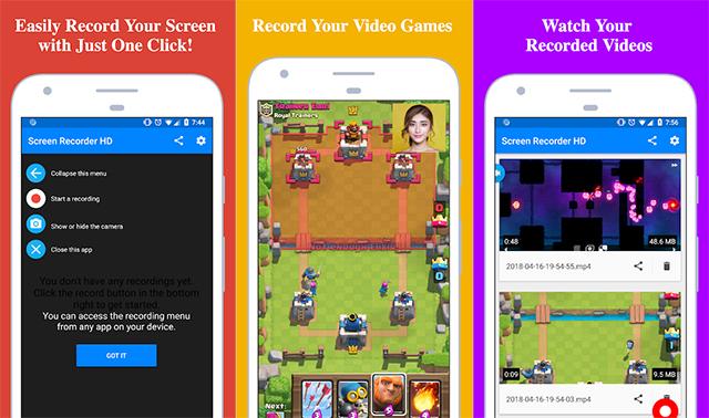 Screen Recorder - Aplikasi Perekam Layar HP Android