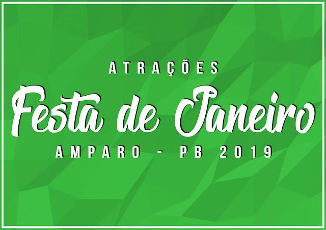 Prefeitura de Amparo divulga Oficialmente Atrações da Festa de Janeiro de 2019