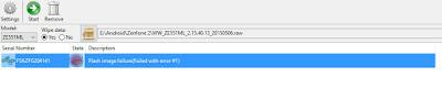 Relock Bootloader Asus Zenfone 2 ZE551ML