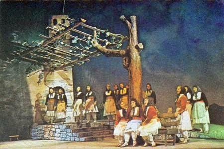 Opera Mrika Prenk Jakova, opera e pare ne Shqiperi