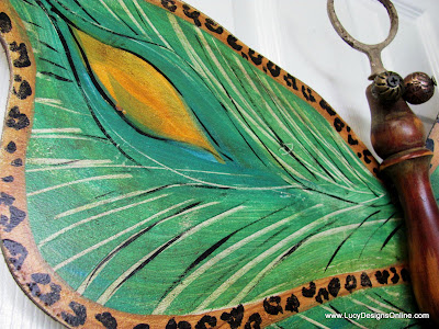 peacock butterfly art
