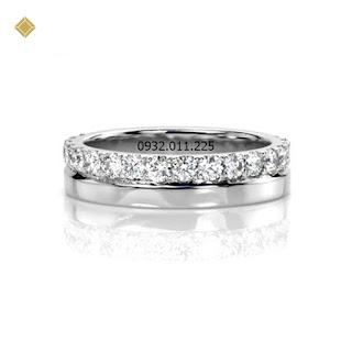 Nhẫn nữ kim cương thiết kế hiện đại