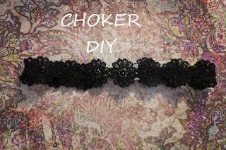Choker DIY