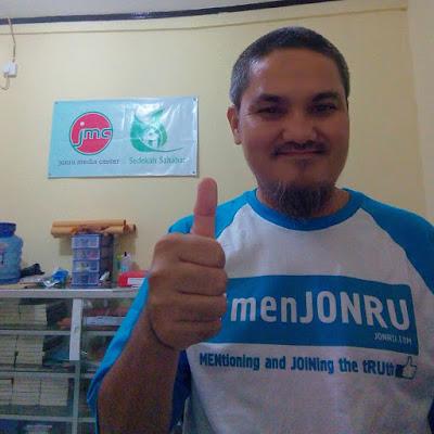 Jonru menjonru Presiden Joko Widodo